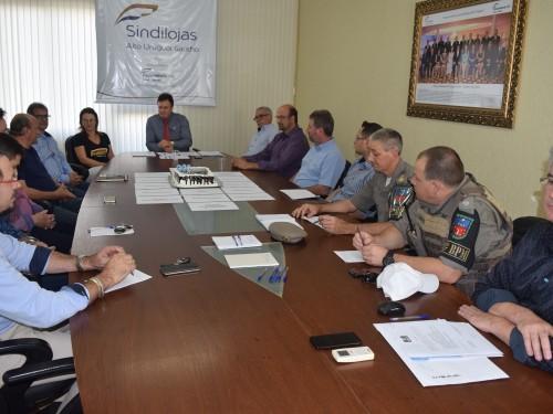 Reunião do Projeto Sentinela
