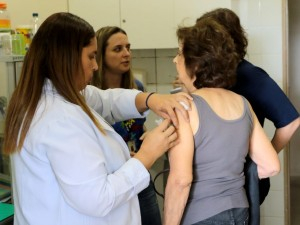 Dia D de Vacinação contra a Influenza (gripe).