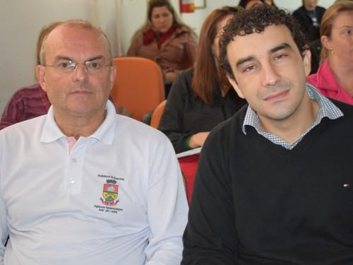 Palestrantes Madalozzo e Maciel
