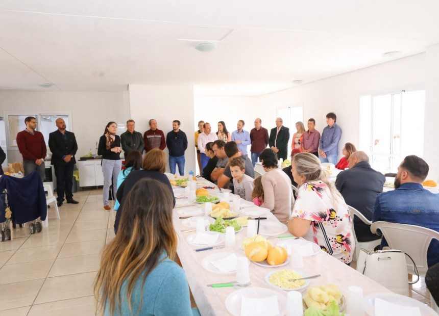 Reunião-almoço municípes Erechim