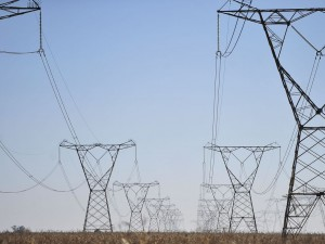 Linhas de transmissão de energia, energia elétrica