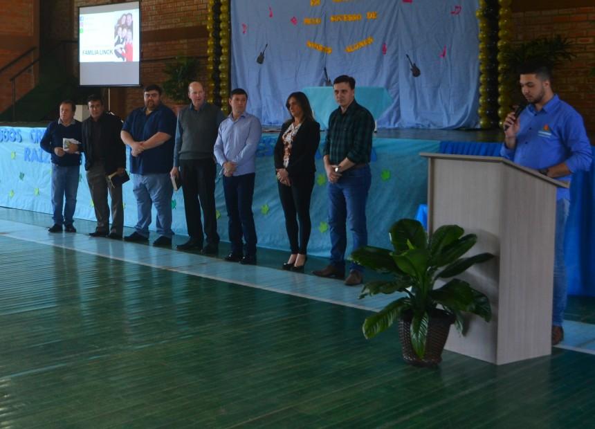 Palestra com Tiago Linck marca Dia da Família na Escola em Charrua - 03