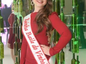 Rainha do Baile do Vinho 2018, Rafaela Vitória Gemelli