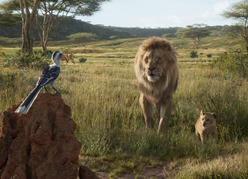 """THE LION KING - Featuring the voices of John Oliver as Zazu, James Earl Jones as Mufasa and JD McCrary as Young Simba, Disney's """"The Lion King"""" is directed by Jon Favreau. In theaters July 19, 2019. © 2019 Disney Enterprises, Inc. All Rights Reserved."""