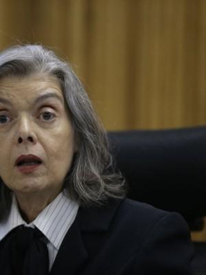 A ministra do STF Cármen Lúcia partipa do Congresso Internacional de Direito e Gênero, na Fundação Getúlio Vargas, no Rio de Janeiro.
