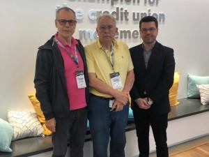Antonio Gabriel Teixeira, Paulo Abreu Barcello e Rodrigo Borges