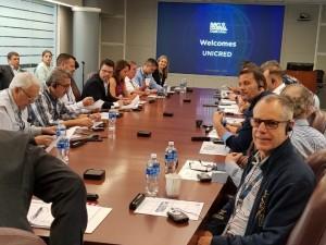Foto 3 - Comitiva em visita à cooperativa Navy Federal Credit Union