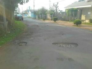 Matéria - melhorias em ruas