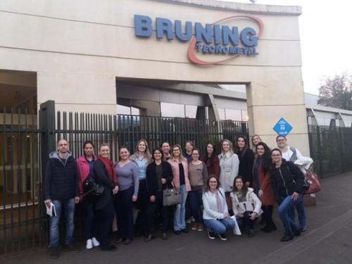 Visita do Grupo de RH da ACCIE à Bruning