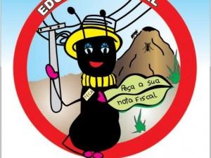 Mascote Teca, símbolo da Educação Fiscal do município de Getúlio Vargas