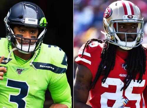 Russel Wilson Seahawks vs Richard Sherman 49ers