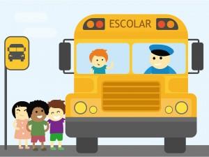 imagem transporte escolar