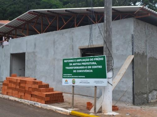 Construção do Centro de Convivência está sendo finalizada em Charrua 1