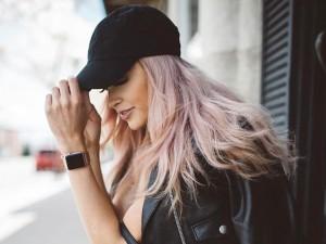 boné feminino mulher modelo estilo