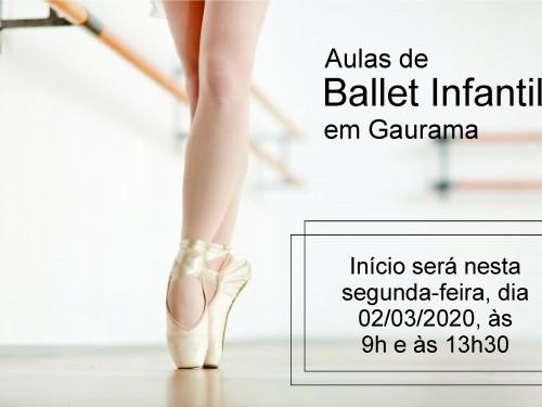 Ballet em Gaurama