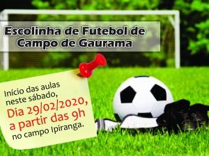Escolinha de Futebol de Campo de Gaurama