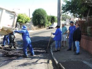 Matéria - asfaltamento joão cabrera