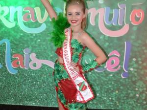 Rainha do Carnaval Infantil 2019, Heloísa Onofre
