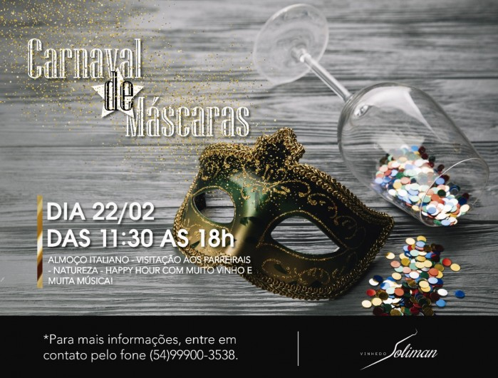 carnaval de mascaras vinhedo soliman