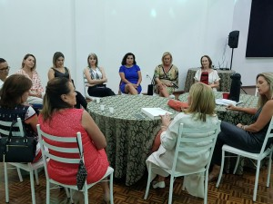Reunião da Diretoria Social também prestou homenagem ao Dia da Mulher