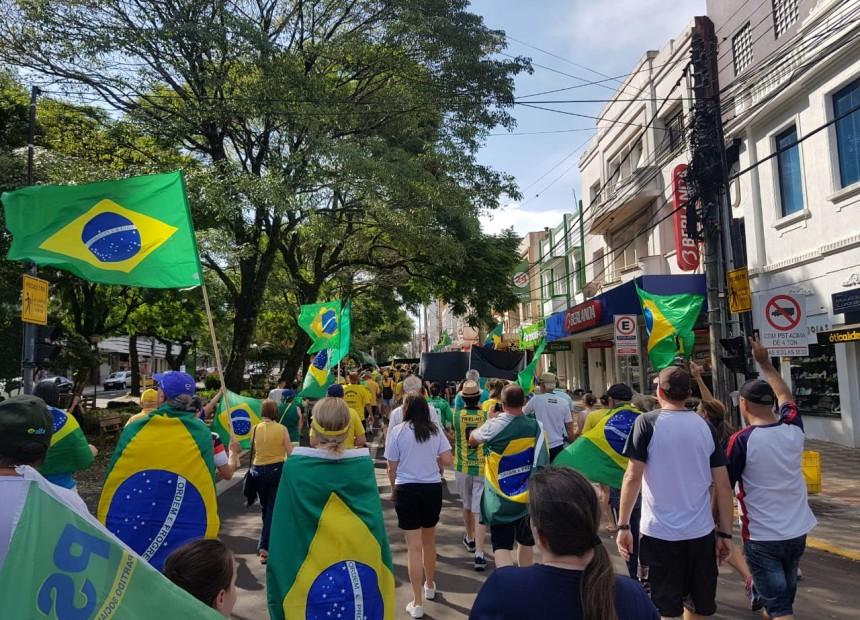 manifestacao brasil protesto