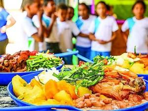 Matéria - alimentação escolar