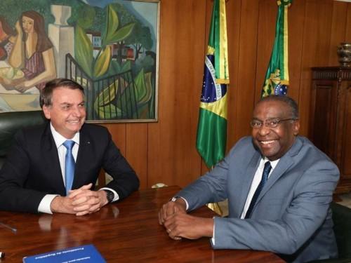 Jair Bolsonaro e Ministro da Educação Carlos Alberto Decotelli