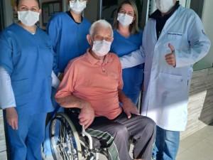 Paciente recuperado da COVID-19