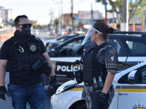 policia e brigada militar segurança