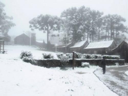 Neve no Rio Grande do Sul Frio