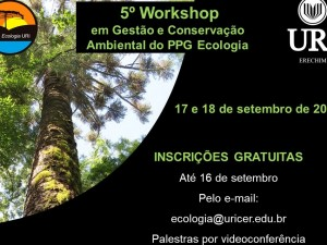 Cartaz V- Workshop PPG Eco URI - 01