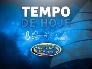 TEMPO DE HOJE 2020