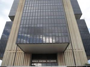 Edifício-sede do Banco Central no Setor Bancário Norte, em lote doado pela Prefeitura de Brasília, em outubro de 1967