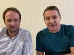 Paulo Polis e Flávio Tirello