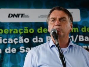 (Conceição do Jacuípe - BA, 26/04/2021) Palavras do Presidente da República Jair Bolsonaro. Foto: Alan Santos/PR