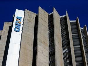 Edificio sede da Caixa Econômica Federal.  (Foto: Marcelo Camargo/Agência Brasil)